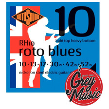 Encordado Rotosound Rh10 Blues Light Top-heavy  010-052