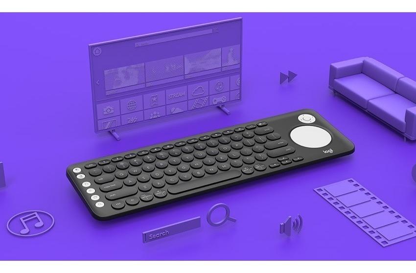 Teclado Inalambrico Smart Tv Logitech K600 Touchpad Multi