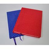 Cuaderno A5 entelado - Pentagramado