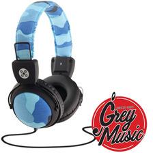 Auricular Moki Camo Headphones Microfono Celular Gamer Azul