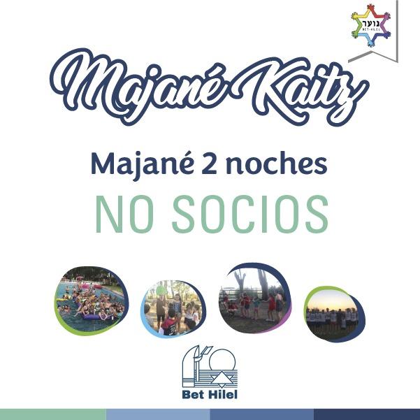 Majané Kaitz 2 Noches No Socios
