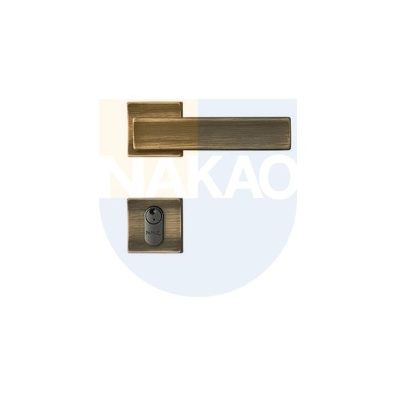 Fechadura Externa 357 R212 Design 450 Oxidado - Papaiz - MZ450