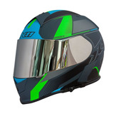 Capacete Moto X11 Revo Pro Flagger Com Viseira