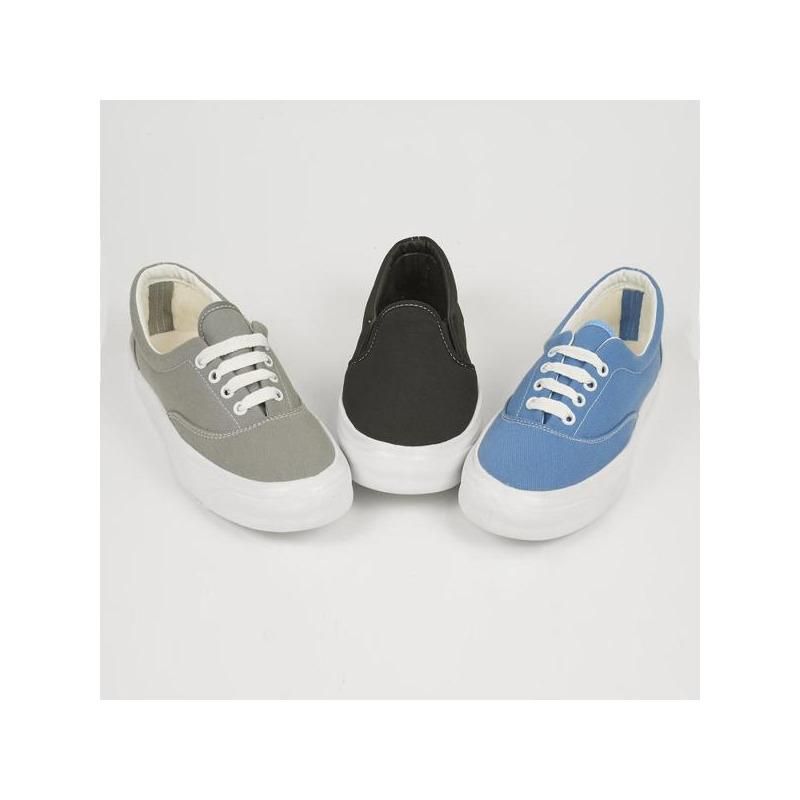 Combo sneakers azul, negro, blanco 018320