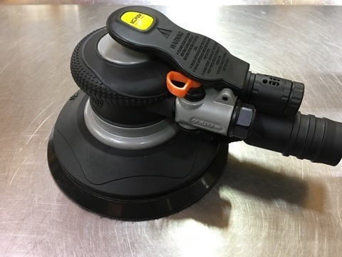 Lijadora Neumatica Roto Orbital Konan Klo-01 6 Plg 150 Mm