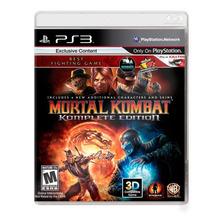 Mortal Kombat 9 Komplete Edition Ps3 Fisico Sellado Original
