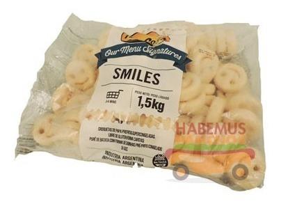 Smiles Mccain Bolsa De 1500 Gramos