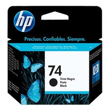 Cartucho Hp 74 Negro Original Cb335wl