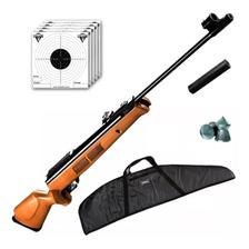 Rifle Aire Comprimido Fox Gr1600 X-nitro Piston + Funda Lujo