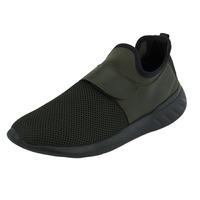 Sneakers Olivo Con Resorte 017602