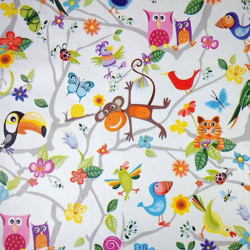 Tecido corino safari infantil - Larg. 1,40 m