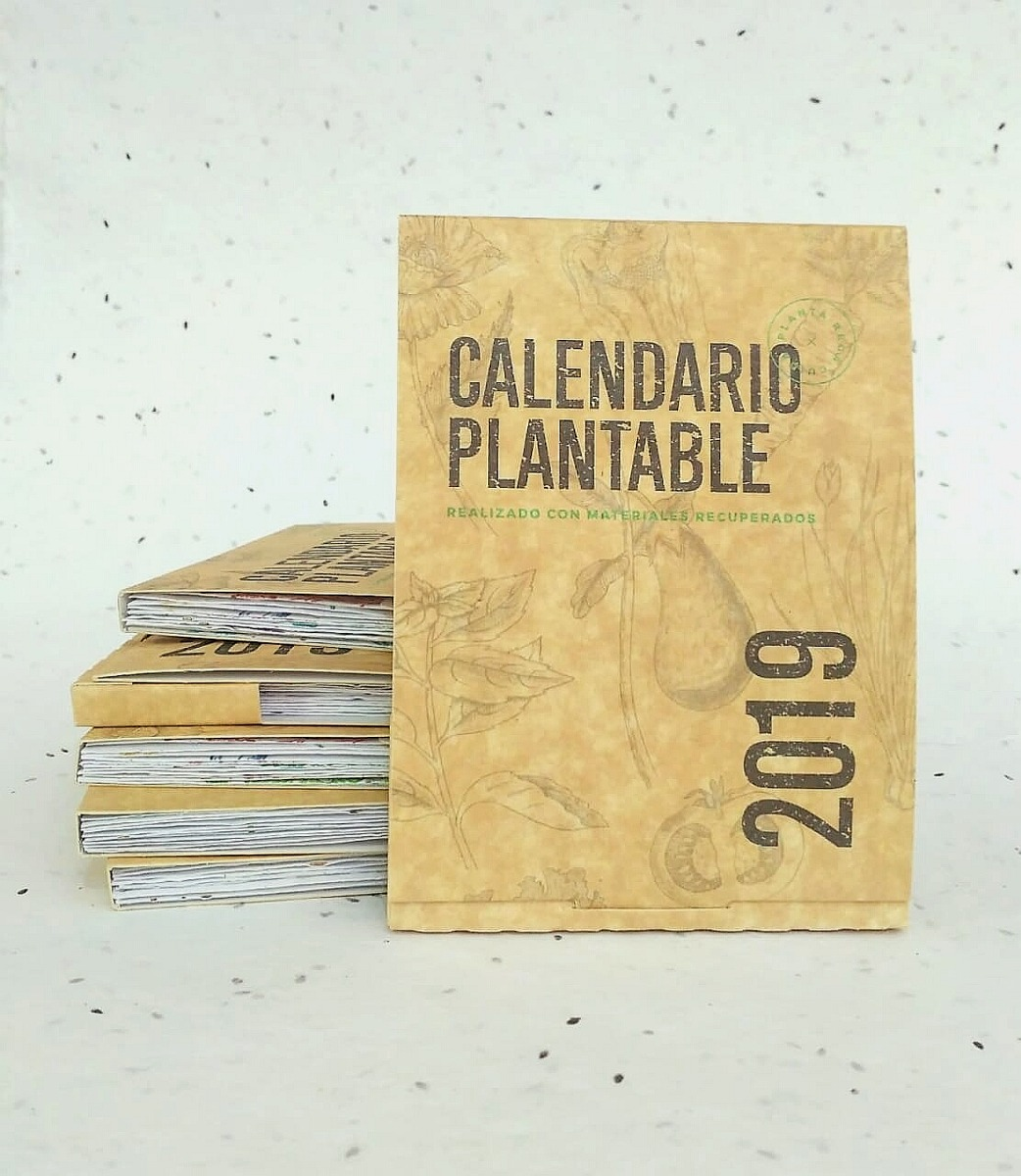 3 Calendarios Plantables 2019 Papel Plantable Reciclado