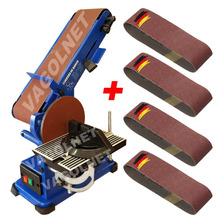 Combo Carpinteria Lijadora Banco Kld 375w + 4 Lijas P/madera
