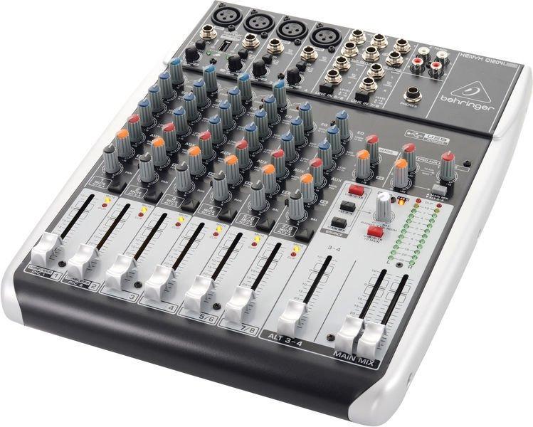 Mixers Consolas Xenyx Q1204usb Behringer Eq Fx 4ch Mono Cano
