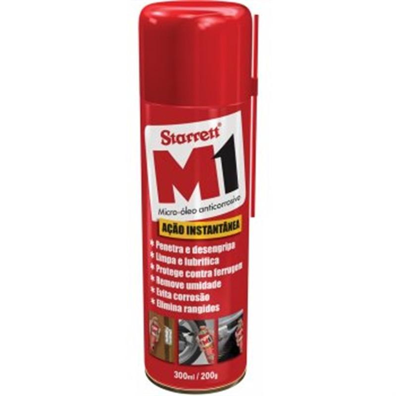 Micro Óleo Anticorrosivo 300 ml - Starrett - M1-215