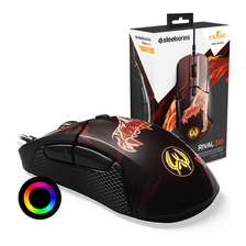Mouse Gamer Steelseries Rival 310 Led Rgb Prism 12000dpi Edicion Cs:go Howl Gtia Oficial