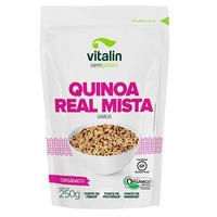 Quinoa em Graos Mista Organica - 250g Vitalin