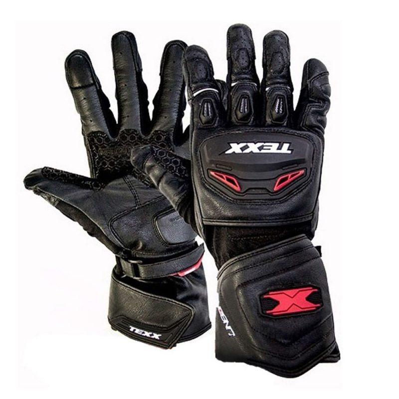 Luva Texx Iron Touch Finger Preta