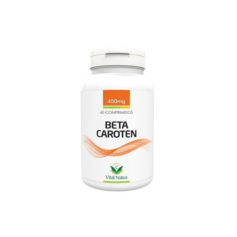 Beta Caroten - 60 comprimidos 450mg - Vital Natus