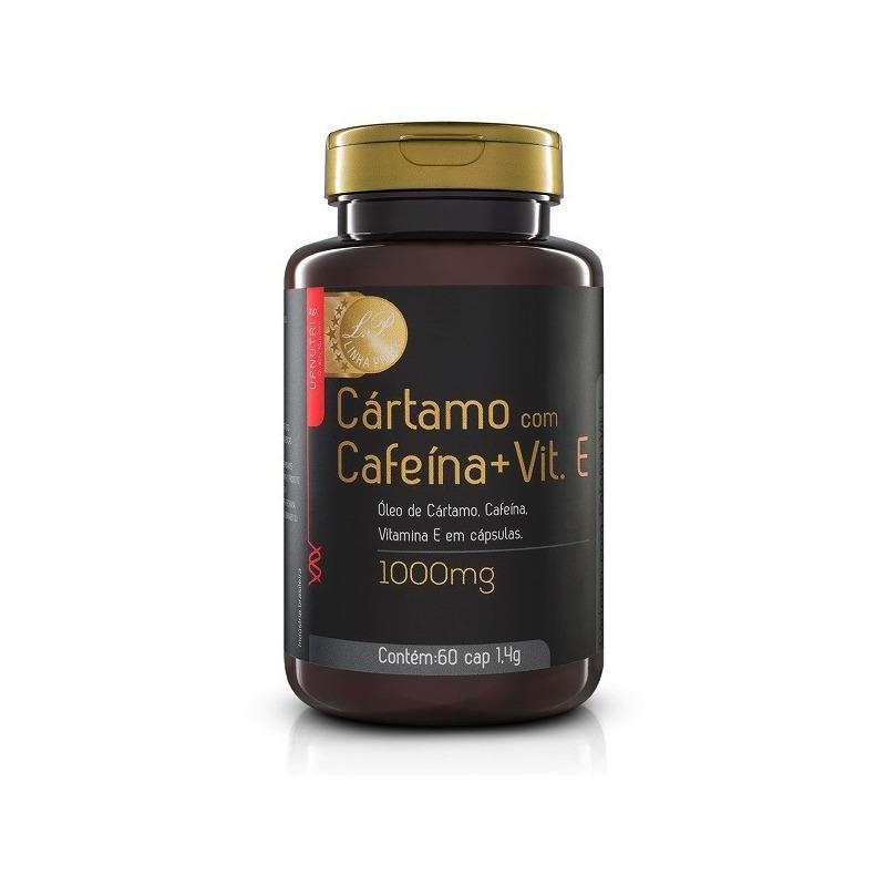 Cártamo com Cafeina e Vitamina E - 60 Caps 1000mg - UpNutri
