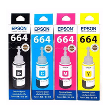 Botellas Epson 664 Original 70 Ml Set X4 L200 L355 555 T664