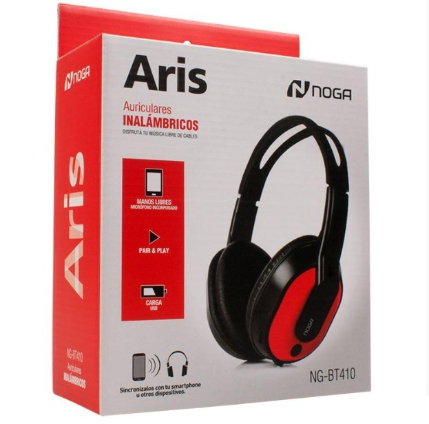 Auricular Bluetooth Recargable Celular Aris Ng-bt410 Noga
