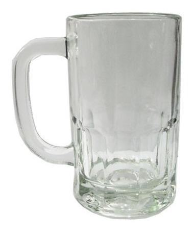4 Vaso Chop Chopp Cerveza Vidrio Durax 350 Ml. Bar Eventos