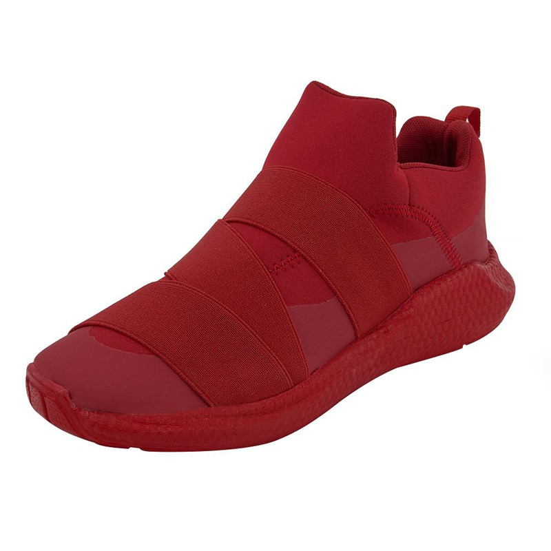 Sneakers Rojo Con Resorte 017672