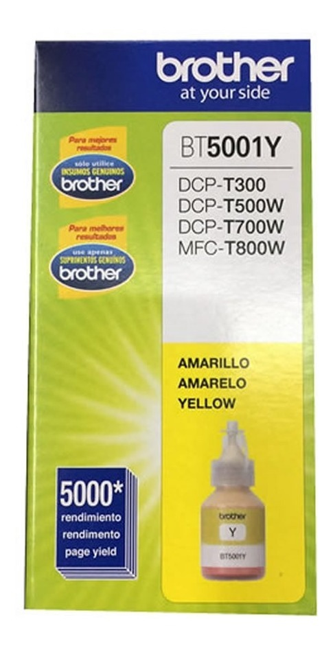 Combo Tinta Brother Color Original Dcp T300 Dcp T500w