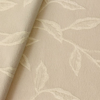 Tecido jacquard tecido estampado creme Coleção Vicenzza