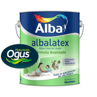 Albalatex Pintura Latex Interior Mate Blanco X 20lts Ogus