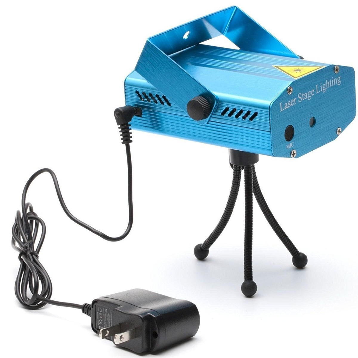 Proyector Luz Laser Multipunto Audioritmico Fiesta Powerzon