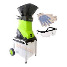 Trituradora Chipeadora Ramas Electrica 2500 W Forest Garden