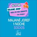 Majane Joref | 1 noche | Socios