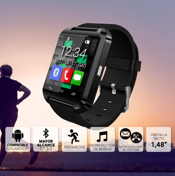 Smartwatch Reloj Inteligente Bluetooth Celulares Android