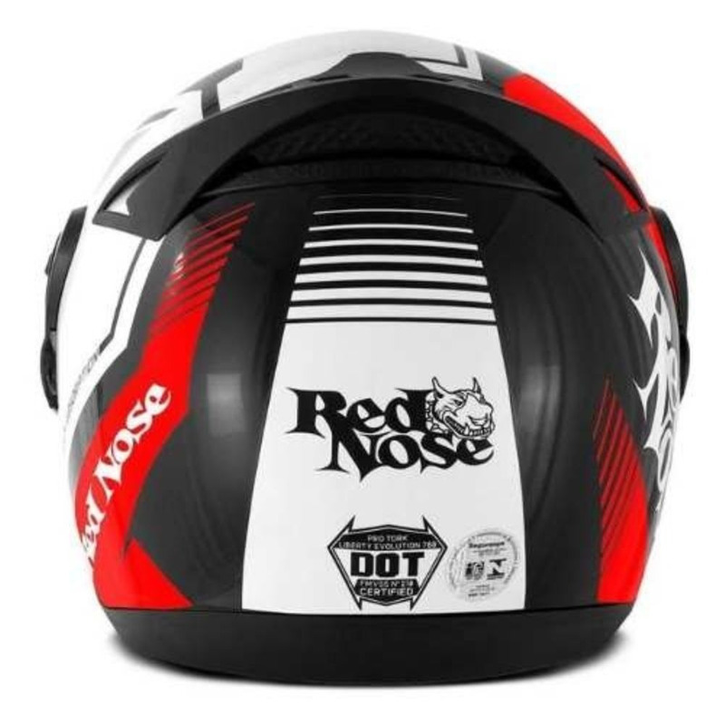Capacete Pro Tork Evolution G6 Red Nose Vermelho Fosco