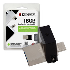Pendrive Dual 16gb Kingston Dtduo Usb 3.1 Microusb Celular