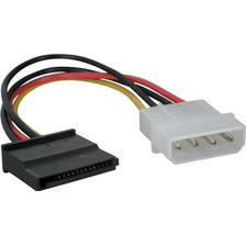 Cable Power Sata Molex Powerzon