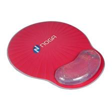 Mouse Pad Antideslizante Apoya Muñecas Con Gel Glitter Noga