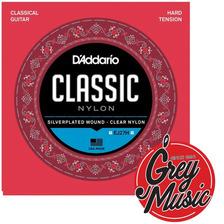 Encordado Daddario Ej27h Clásica Tensión Fuerte- Grey Music