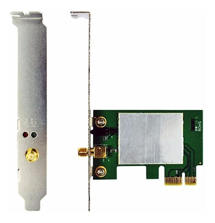 Placa De Red Wifi N Noga N150pe Pci-e 150mbps Inalambrica