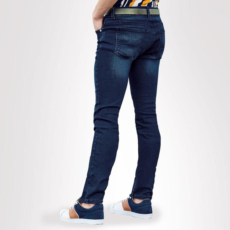 Pantalón Azul Mezclilla Con Cierre 021722