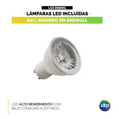 Aplique Luz Exterior Bidireccional Aluminio X5 Con Led 7w