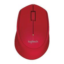 Mouse Inalambrico Logitech M280 Wireless Usb Rojo