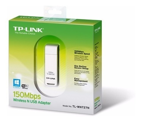 Placa De Red Usb Wireless Tp-link Tl-727n 150mbps Wifi