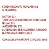 FORD FALCON TC RIOPLANTENSE Y REGIONAL