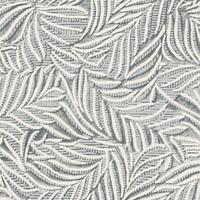Tecido para parede tropical cinza impermeabilizado  Coleção Mônaco