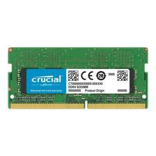 MEMORIA RAM 16GB CRUCIAL SODIMM 2666MHZ MAC HP LENOVO ACER