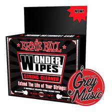 Ernie Ball Wonder Wipe- Paños Limpia Cuerdas 4277 Grey Music