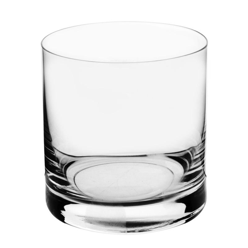 Jg 6 Copos Baixos Para Whisky 410Ml Barware - Bohemia 7557671